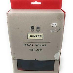 Women Hunter Original Short Boots Fleece Socks Leg